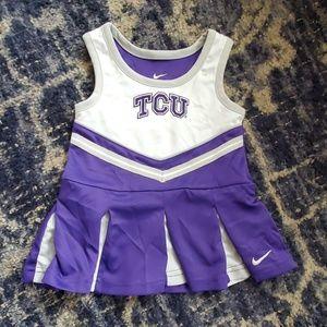 Nike TCU Toddler Cheer Dress